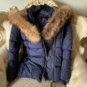 Mackage never worn Parka double fur